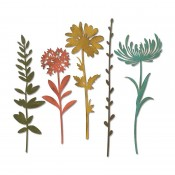 Sizzix Thinlits Die Set: Wildflower Stems #2 664163