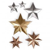 Sizzix Thinlits Die Set: Dimensional Stars 661595