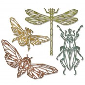 Sizzix Thinlits Die Set: Geo Insects 664180