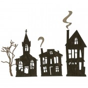 Sizzix Thinlits Die Set: Ghost Town 664194