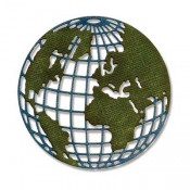 Sizzix Thinlits Die: Mini Globe 661598