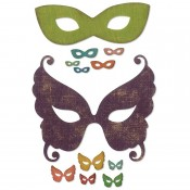 Sizzix Thinlits Die Set: Masquerade 664195