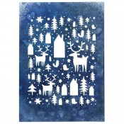 Sizzix Thinlits Die Set: Nordic Winter 664199