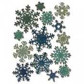 Sizzix Thinlits Die Set: Mini Paper Snowflakes 661599