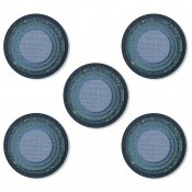 Sizzix Thinlits Die Set: Stacked Tiles, Circles - 664437