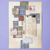 Sizzix Thinlits Die Set: Stacked Tiles, Squares 664438