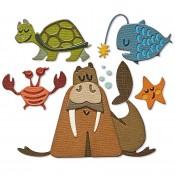 Sizzix Thinlits Die Set: Under The Sea #2, Colorize 665378