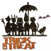 Sizzix Thinlits Die Set: Trick or Treat 662384