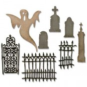Sizzix Thinlits Die Set: Village Graveyard 662377