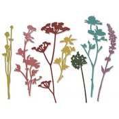 Sizzix Thinlits Die Set - Wildflowers 661190