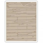 Sizzix Embossing Folder: Wood Planks 662370