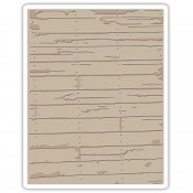 Sizzix Texture Fades Embossing Folder: Wood Planks 662370
