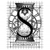 Stampers Anonymous Wood Mounted Stamp: S Synchronicity K2-640