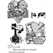 Stampers Anonymous Classics - Cling Mount Stamps SCF008