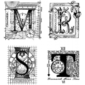 Stampers Anonymous Classics - Cling Mount Stamps SCF015