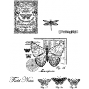 Stampers Anonymous Classics - Cling Mount Stamps SCF017