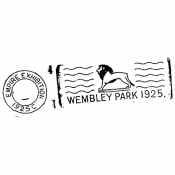 Stampers Anonymous Wood Mounted Stamp: Wembley Park J318