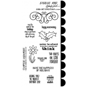 Wendy Vecchi Cling Mount Stamps - Card Art Essentials LCS020