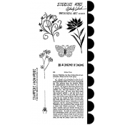 Wendy Vecchi Cling Mount Stamps - Botanical Art LCS037