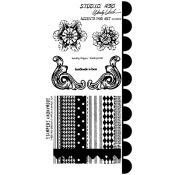Wendy Vecchi Cling Mount Stamps - Accents For Art LCS078