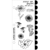 Wendy Vecchi Cling Mount Stamps - Daisy Art LCS101