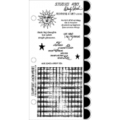 Wendy Vecchi Cling Mount Stamps - Sunshine & Art LCS102