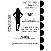 Wendy Vecchi Cling Mount Stamps - Regal Art SCS058