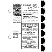 Wendy Vecchi Cling Mount Stamps - New York Art SCS115