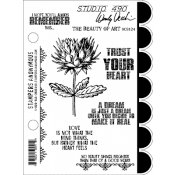 Wendy Vecchi Cling Mount Stamps - The Beauty of Art SCS124