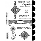 Wendy Vecchi Cling Mount Stamps - Art and You SCS129