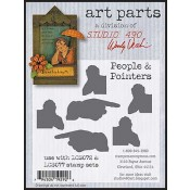 Studio 490 Art Parts - People & Pointers WVAP009