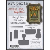 Studio 490 Art Parts - Supplies for Art Coordinates WVAP011