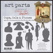 Studio 490 Art Parts - Guys, Girls & Phones WVAP012