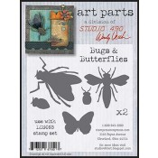 Studio 490 Art Parts - Bugs & Butterflies WVAP018