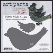 Studio 490 Art Parts - Birds With Wings WVAP023
