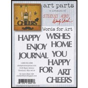 Studio 490 Art Parts - Words For Art WVAP028