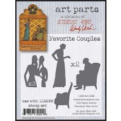 Studio 490 Art Parts - Favorite Couples WVAP030