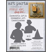 Studio 490 Art Parts - Eccentric Art & Domestic Art Coordinates WVAP035