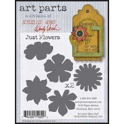 Studio 490 Art Parts - Just Flowers WVAP037