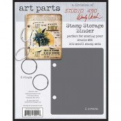 Wendy Vecchi Art Parts: Stamp Storage Binder - WVAP044