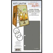Wendy Vecchi Art Parts: Large Stamp Storage Binder - WVAP045