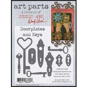 Studio 490 Art Parts - Doorplates & Keys WVAPDK