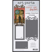 Studio 490 Art Parts - Large Flourish Frames WVAPLFF