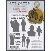 Studio 490 Art Parts - Mustaches, Men & More WVAPMMM