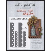 Studio 490 Art Parts - Scallop Trim WVAPSCALLOP