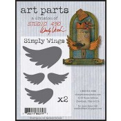 Studio 490 Art Parts - Simply Wings WVAPSW