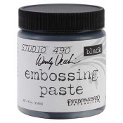 Studio 490 Wendy Vecchi - Embossing Paste, Black