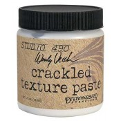 Studio 490 Wendy Vecchi: Embossing Paste - Crackle Texture WVPASTECRA