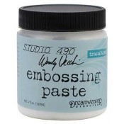 Studio 490 Wendy Vecchi: Embossing Paste - Translucent WVPASTETRN