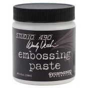 Studio 490 Wendy Vecchi - Embossing Paste, White 4 oz